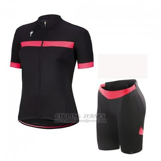 Women's Specialized RBX Sport Cycling Jersey Bib Short 2018 Black Pink