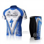 Men's Specialized RBX Comp Cycling Jersey Bib Short 2010 Blue White