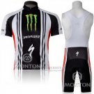 Men's Specialized RBX Comp Cycling Jersey Bib Short 2011 Black White Green