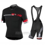 Men's Specialized SL Elite Cycling Jersey Bib Short 2015 Black Red