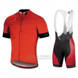 Men's Specialized SL Pro Cycling Jersey Bib Short 2018 Red Black