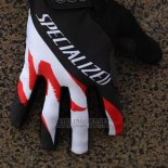 Specialized Cycling Full Finger Gloves 2014 Black White Red