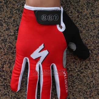 Specialized Cycling Full Finger Gloves 2014 Red