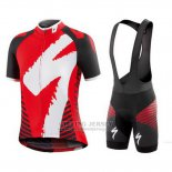Men's Specialized RBX Comp Cycling Jersey Bib Short 2016 White Red Black