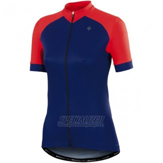 Womens Specialized RBX Sport Cycling Jersey Bib Short 2015 Blue Orange
