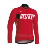 Men's Specialized SL Expert Cycling Jersey Long Sleeve Bib Tight 2013 Red