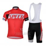 Men's Specialized SL Expert Cycling Jersey Bib Short 2013 Red