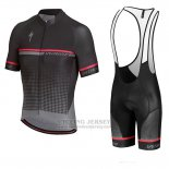 Men's Specialized SL Expert Cycling Jersey Bib Short 2018 Black Red