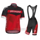 Men's Specialized RBX Sport Cycling Jersey Bib Short 2016 Black Red