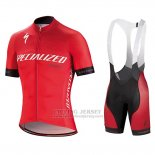 Men's Specialized SL Expert Cycling Jersey Bib Short 2018 Red