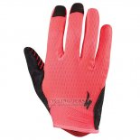 Specialized Cycling Full Finger Gloves 2018 Red Red Black