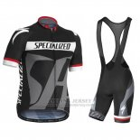 Men's Specialized RBX Sport Cycling Jersey Bib Short 2016 Black Grey
