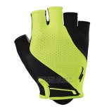 Specialized Cycling Short Gloves 2018 Green Black