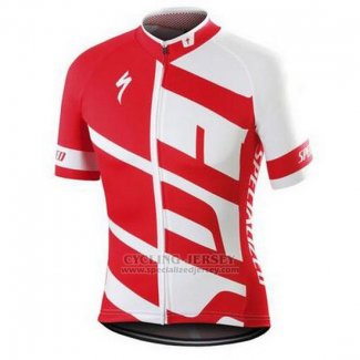 Men's Specialized RBX Comp Cycling Jersey Bib Short 2016 White Red