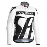Men's Specialized RBX Sport Cycling Jersey Long Sleeve Bib Tight 2016 White Black