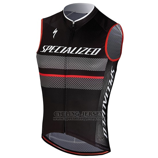 Men's Specialized RBX Comp Cycling Vest Bib Short 2018 Black Red