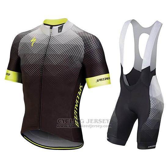 b482dd4ac Men s Specialized SL Pro Cycling Jersey Bib Short 2018 Black Yellow.  Loading zoom