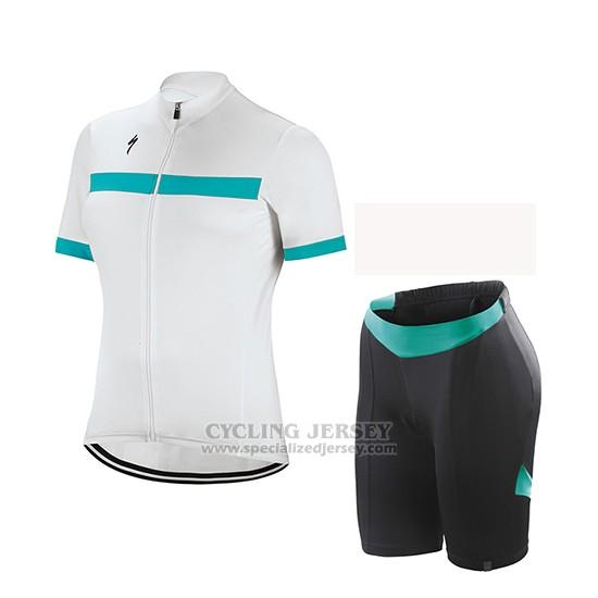 Women s Specialized RBX Sport Cycling Jersey Bib Short 2018 White Green.  Loading zoom edc840582